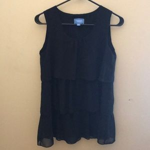 Black Simply Vera tank top